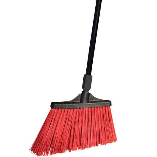 O-Cedar MaxiStrong 13 In. W. x 56 In. L. Metal Handle Angle Household Broom