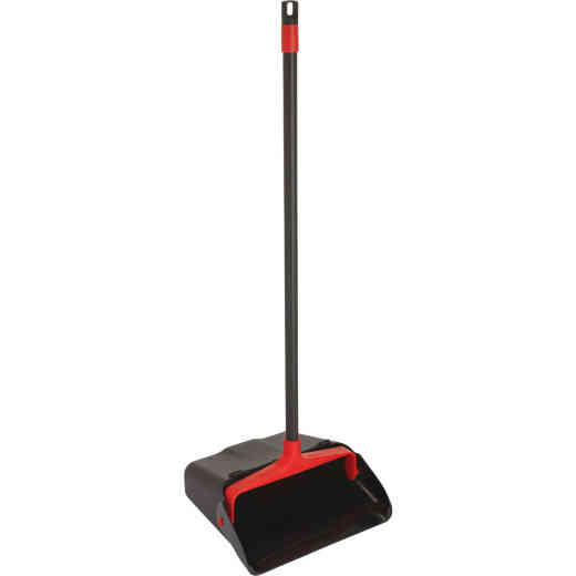 Nexstep 30 In. Long Handled Dust Pan with Wheels